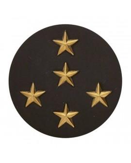 Insigne Or Général d'Armes 5 étoiles