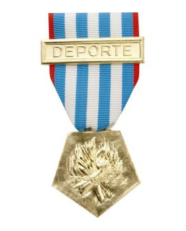Médaille Déporté Résistance Bronze