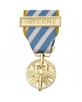 Médaille Interné Politique