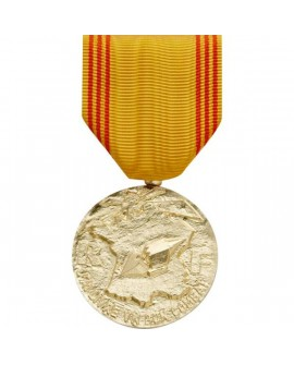 Médaille Refractaire Bronze Doré