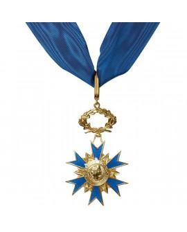Médaille Commandeur de l'Ordre du Mérite Vermeil