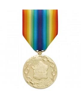 Médaille France Libérée Bronze Doré