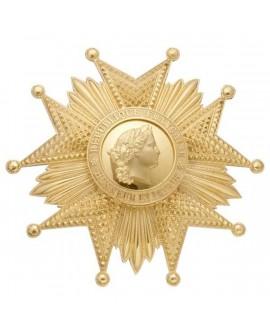 Plaque Grand Croix Légion d'Honneur Vermeil