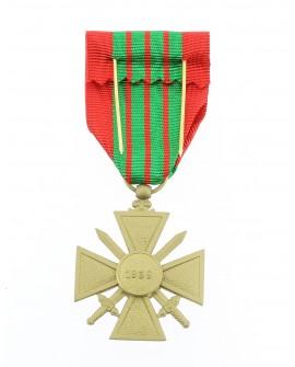 Médaille Croix de Guerre 39/45