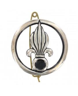 Insigne Argent Légion Cavalerie Ancien Modèle
