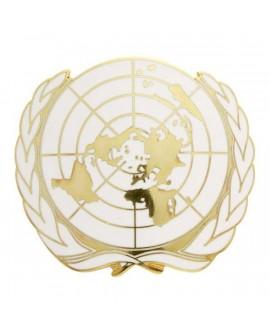 Insigne Or ONU Email Grand Feu