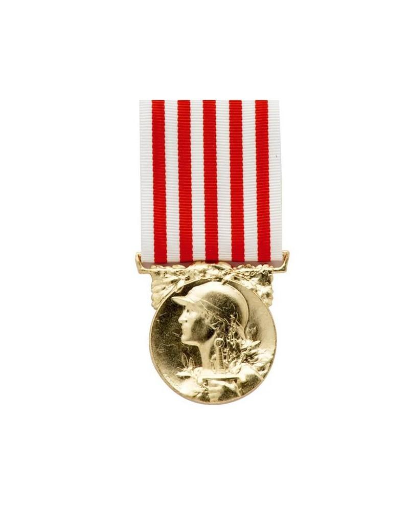 Extrêmement Médaille Déporté Résistance Bronze NU88