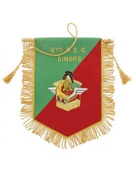 Fanion Cannetille Souvenir 6e REG-DINOPS