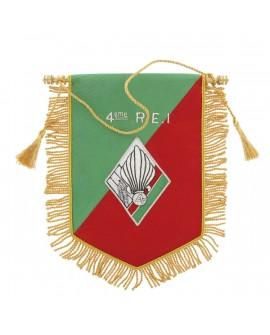 Fanion Cannetille Souvenir 4e R.E.I