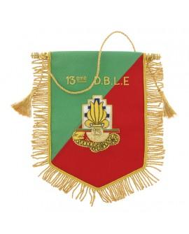 Fanion Cannetille Souvenir 13e D.B.L.E