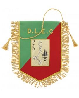 Fanion Cannetille Souvenir D.L.E.C