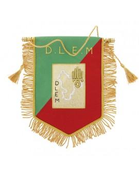 Fanion Cannetille Souvenir D.L.E.M