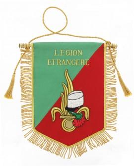 Fanion Cannetille Logo Légion Etrangère