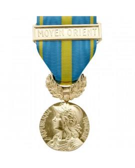Médaille Commémorative Moyen Orient Bronze