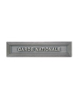 AGRAFE ORDONNANCE GARDE NATIONALE