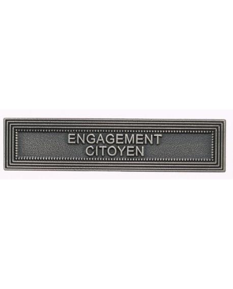 585546 - AGRAFE ORDONNANCE ENGAGEMENT CITOYEN