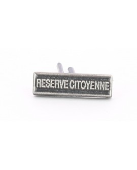 AGRAFE REDUCTION RESERVE CITOYENNE