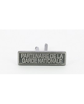 AGRAFE REDUCTION PARTENAIRE DE LA GARDE NATIONALE