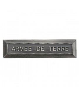 Agrafe Armée de Terre Armée de Terre Argent