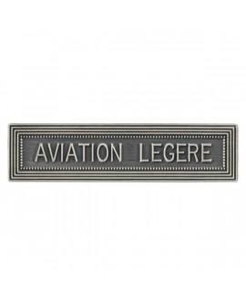Agrafe Aviation Légère Armée de Terre Argent