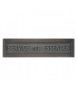 Agrafe Service des Essences  Argent
