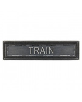 Agrafe Train Armée de Terre Argent
