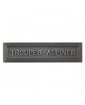 Agrafe Troupes Alpines Argent