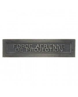 Agrafe Force Aérienne de Projection Argent