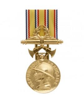 Médaille 35 ans Honneur des Sapeurs Pompiers Vermeil