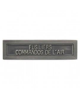 Agrafe Fusilier de l'air Argent