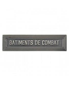 Agrafe Bâtiment de Combat Marine Nationale Argent