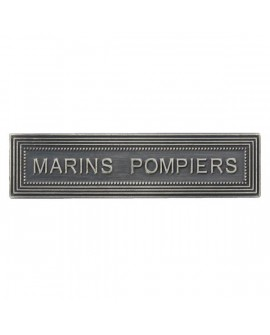 Agrafe Marins Pompiers Marine Nationale Argent