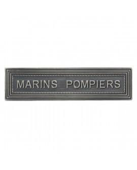 Agrafe Marins Pompiers Marine Nationale Argent