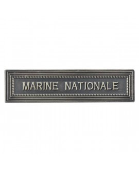 Agrafe Marine Nationale Argent