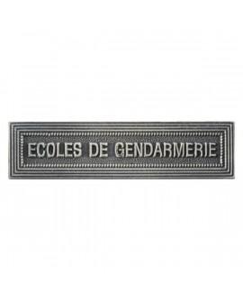 Agrafe Ecoles de Gendarmerie Argent