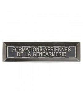 Agrafe Formations aériennes de la Gendarmerie Argent