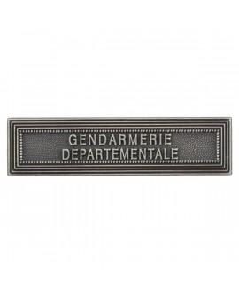 Agrafe Gendarmerie Départementale Argent