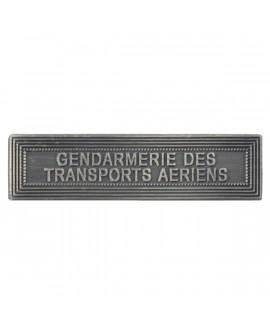 Agrafe Gendarmerie des Transports Aériens Argent