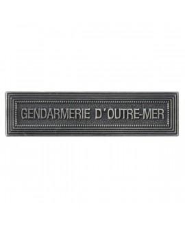 Agrafe Gendarmerie d'Outre Mer Argent