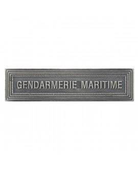 Agrafe Gendarmerie Maritime Argent
