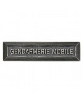 Agrafe Gendarmerie Mobile Argent