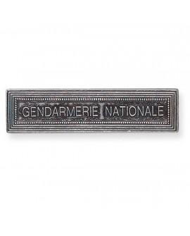 Agrafe Gendarmerie Nationale Argent