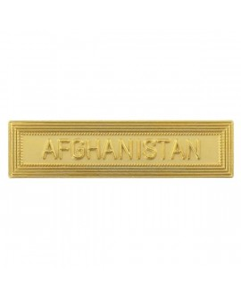 Agrafe Afghanistan Or