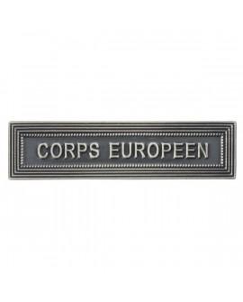 Agrafe Corps Européen Argent