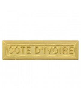 Agrafe Côte d'Ivoire Or