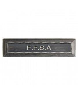 Agrafe FFSA Argent