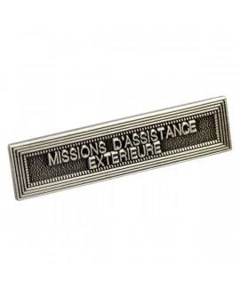 Agrafe Missions Assistances Extérieures Argent