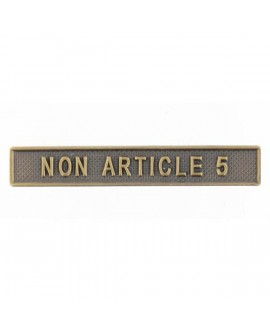 Agrafe Non Article 5 Bronze