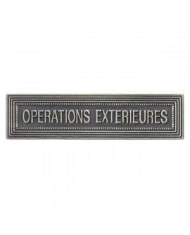 Agrafe Opérations Extérieures Argent