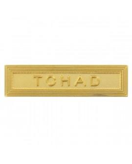 Agrafe Tchad Or